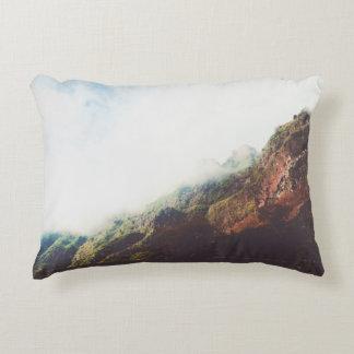 Mountains Wanderlust Adventure Nature Landscape Decorative Pillow