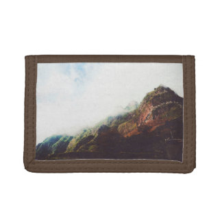 Mountains Wanderlust Adventure Nature Landscape Trifold Wallet