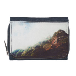 Mountains Wanderlust Adventure Nature Landscape Wallet