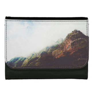 Mountains Wanderlust Adventure Nature Landscape Wallet For Women