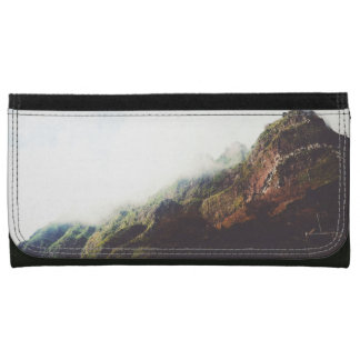 Mountains Wanderlust Adventure Nature Landscape Wallets For Women