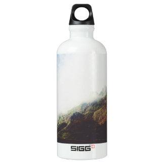 Mountains Wanderlust Adventure Nature Landscape Water Bottle