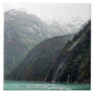 Mountainscape Photo Tile