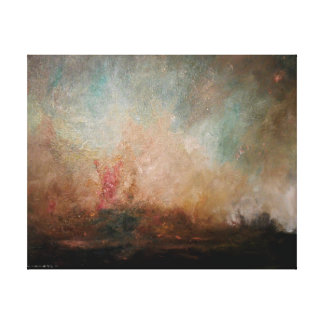 Mountainside at Dusk Canvas Print