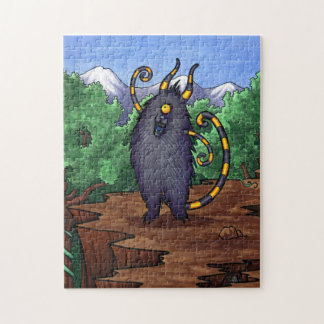 Mountaintop Monster - Feeping Creatures puzzle