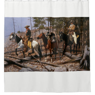 Mounted Cowboys by Remington