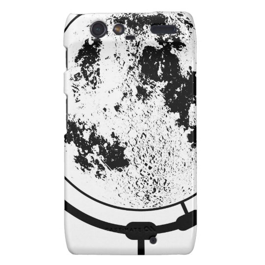 Mounted Lunar Globe On Rotating Swivel Droid RAZR Cases