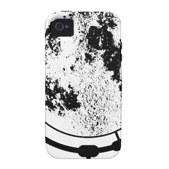 Mounted Lunar Globe On Rotating Swivel iPhone 4 Cases