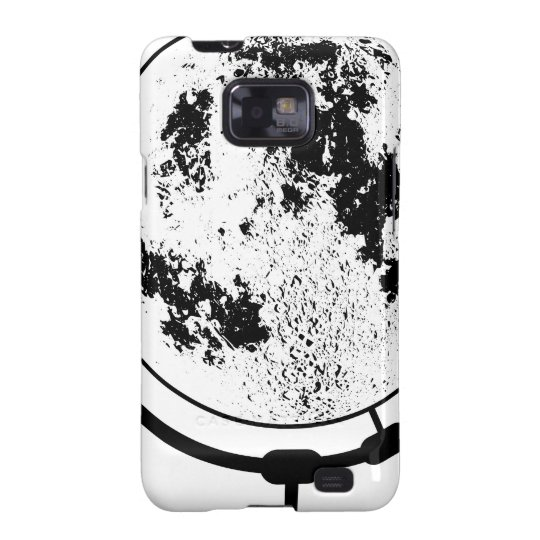 Mounted Lunar Globe On Rotating Swivel Samsung Galaxy S2 Case