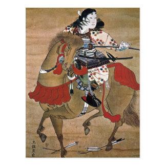 Mounted Samurai Postcard