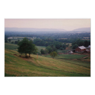 Mountville Pass, Middletown Valley, MD (small) Poster