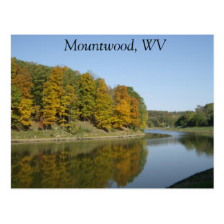 Mountwood Park in Fall Postcard