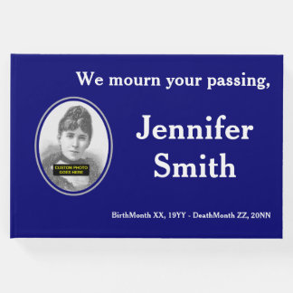 Mournful & Basic Condolences Guestbook