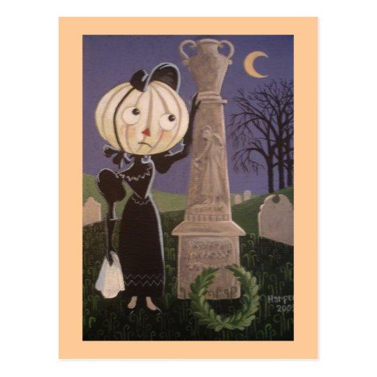 Mournful Clara Postcard
