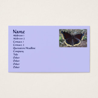 Mourning Cloak Butterfly Business Cards