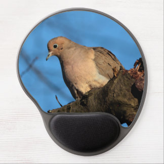 Mourning Dove against a Blue Sky Gel Mouse Pad