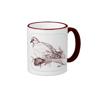 Mourning Dove Baby Ringer Coffee Mug