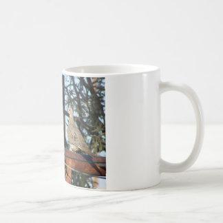 Mourning Dove Basic White Mug