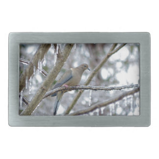 Mourning Dove Belt Buckle