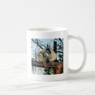 Mourning Dove Classic White Coffee Mug