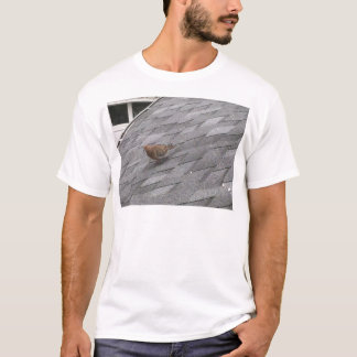 Mourning Dove on a Rooftop T-Shirt