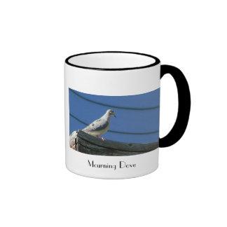 Mourning Dove Ringer Coffee Mug