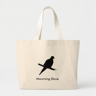 Mourning Dove silhouette Bag