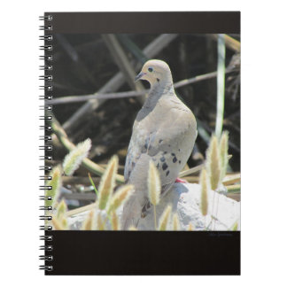 Mourning Dove Spiral Notebook