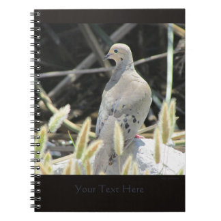Mourning Dove Spiral Notebook 2