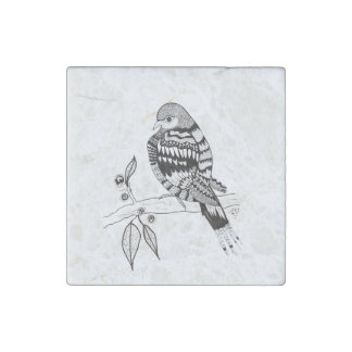 Mourning Dove Stone Magnet