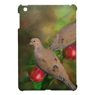 Mourning Doves on the Apple Tree - Painting iPad Mini Case