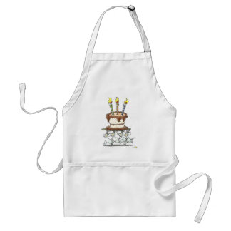 Mouse and cake standard apron