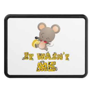 Mouse and cheese .. trailer hitch cover