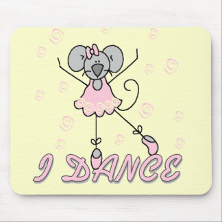 Mouse Ballet Tshirts and Gifts Mouse Pad