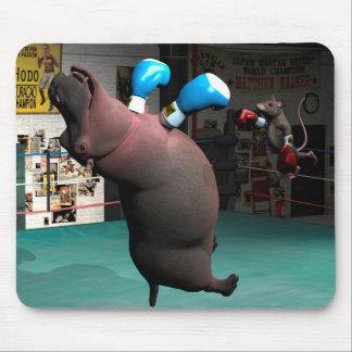 Mouse Beats Hippo KO Mouse Pad
