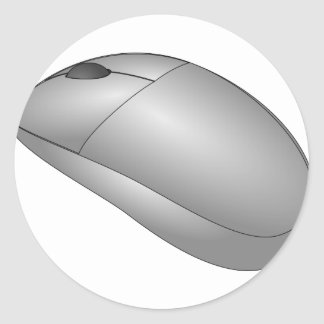 Mouse Classic Round Sticker