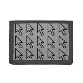 Mouse Cursor Arrow Graphic Tri-fold Wallet