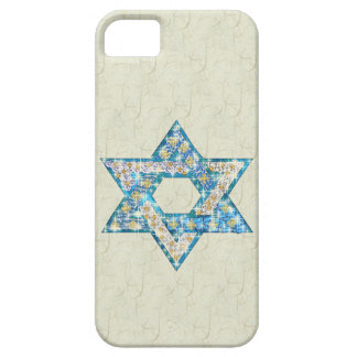 Mouse-Drawn Gem Decorated Star Of David iPhone 5 Case