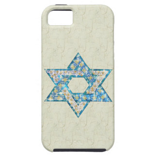 Mouse-Drawn Gem Decorated Star Of David iPhone 5 Covers