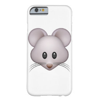 Mouse - Emoji Barely There iPhone 6 Case