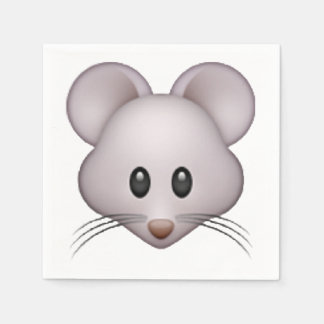 Mouse - Emoji Disposable Napkins