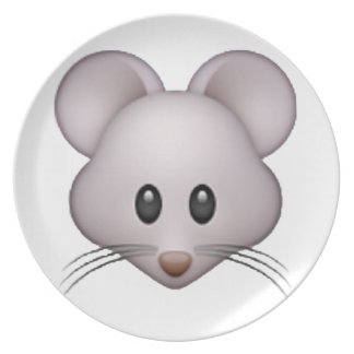 Mouse - Emoji Party Plates