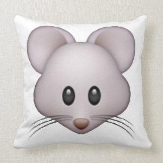 Mouse - Emoji Throw Pillow