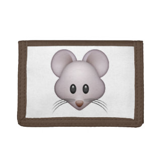 Mouse - Emoji Trifold Wallets