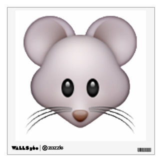 Mouse - Emoji Wall Decal