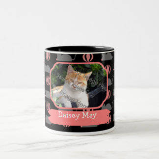 Mouse Female Cat Name and Photo Coffee Mugs
