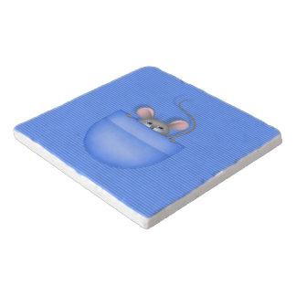 Mouse in Pocket Trivet