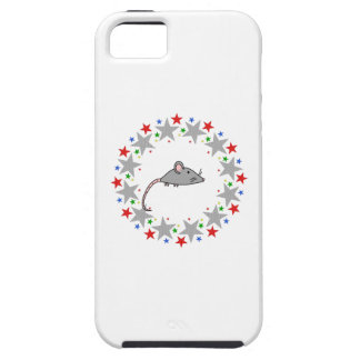 Mouse in Stars iPhone 5 Cover