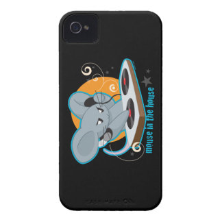 Mouse in the House iPhone 4 Case-Mate Cases