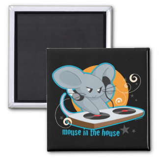 Mouse in the House Magnet